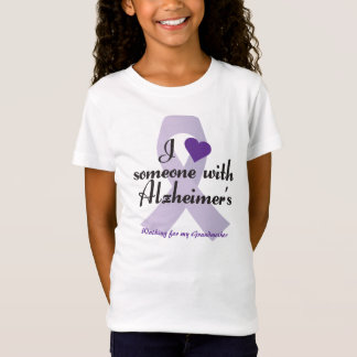 I Love Someone with Alzheimers T-Shirt