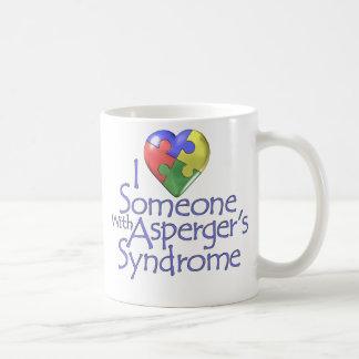 I Love Someone With Asperger's Coffee Mug