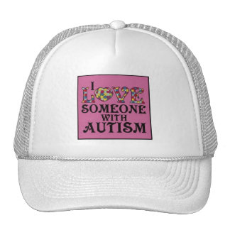 """""""I Love Someone With Autism"""" Mesh Hat"""