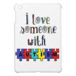 I Love Someone With Autism iPad Mini Covers