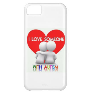 I LOVE SOMEONE WITH AUTISM IPHONE CASE iPhone 5C COVER