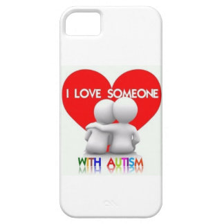 I LOVE SOMEONE WITH AUTISM IPHONE CASE iPhone 5 COVER