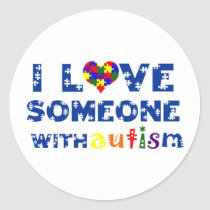 I love someone with Autism sticker