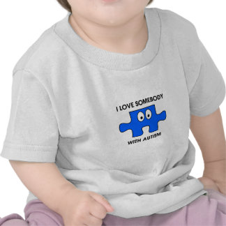 I love someone with autism tees