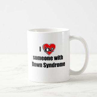 I Love Someone with Down Synrome Coffee Mug