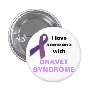 I Love Someone with Dravet Syndrome Pins