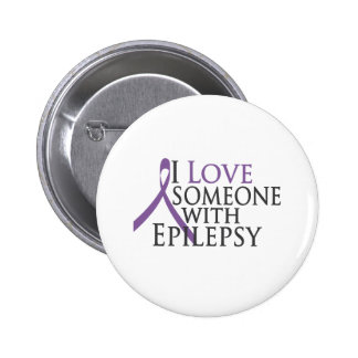 i love someone with epilepsy 2 inch round button