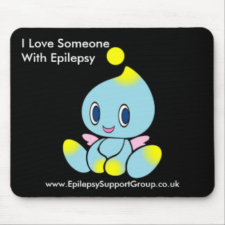 I love someone with epilepsy mouse pad