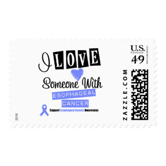 I Love Someone With Esophageal Cancer Postage Stamp