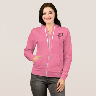 I Love Someone With Fibro Hoodie For Women