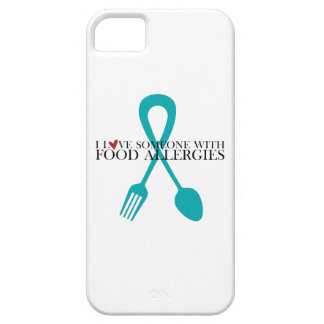 I Love Someone With Food Allergies iPhone 5 Case