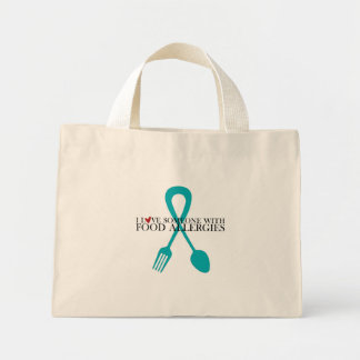 I Love Someone With Food Allergies Tote