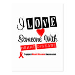 I Love Someone With Heart Disease Post Cards