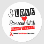 I Love Someone With Heart Disease Sticker