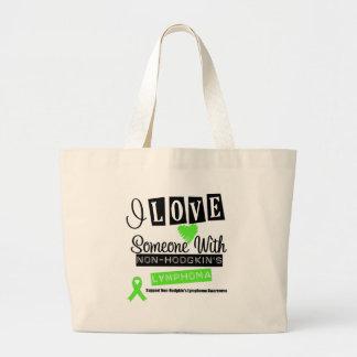 I Love Someone With Non-Hodgkin s Lymphoma Tote Bag