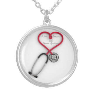 I Love Someone with Noonan Syndrome necklace