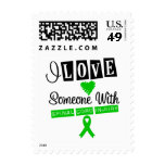 I Love Someone With Spinal Cord Injury Stamps