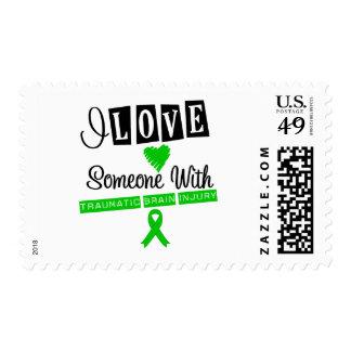 I Love Someone With Traumatic Brain Injury Stamp