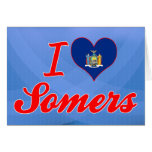 I Love Somers, New York Cards