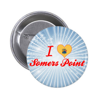 I Love Somers Point New Jersey Pins