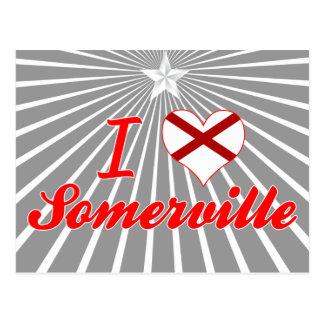I Love Somerville, Alabama Post Card
