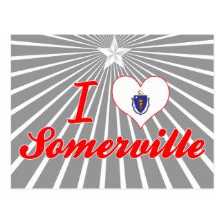 I Love Somerville, Massachusetts Postcards