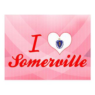 I Love Somerville, Massachusetts Postcard