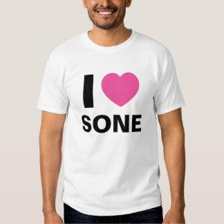 I Love Sone T Shirt