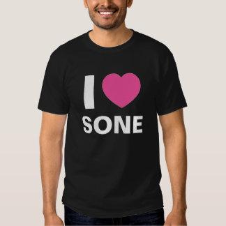 I Love Sone T Shirt (black)