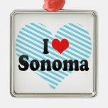 I Love Sonoma Christmas Ornament