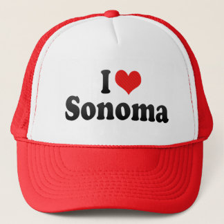 I Love Sonoma Trucker Hat