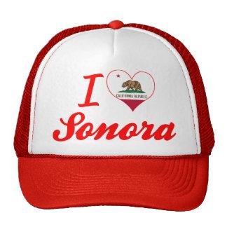 I Love Sonora, California Hats