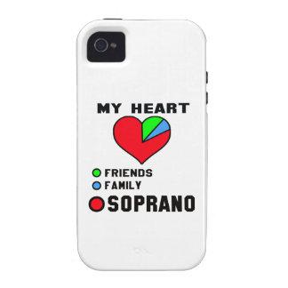 I love Soprano. iPhone 4 Cases