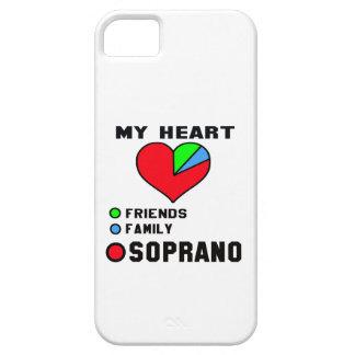 I love Soprano. iPhone 5 Cover