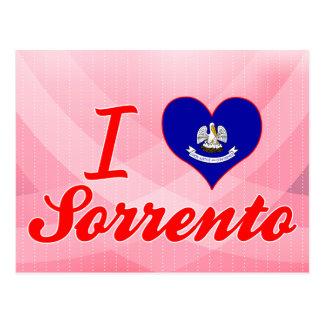 I Love Sorrento, Louisiana Post Cards