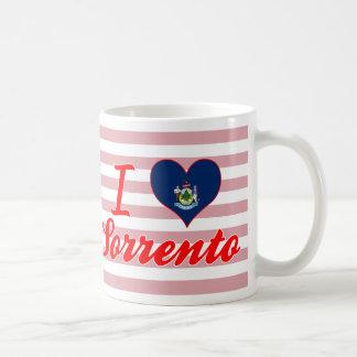 I Love Sorrento, Maine Classic White Coffee Mug