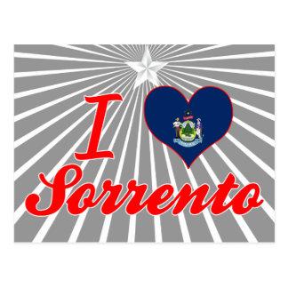 I Love Sorrento, Maine Post Card