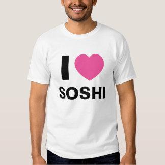 I Love Soshi T Shirt