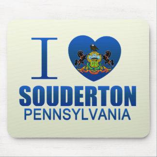 I Love Souderton, PA Mousepad