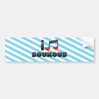 I Love Soukous Bumper Stickers