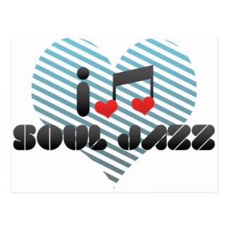 I Love Soul Jazz Post Card