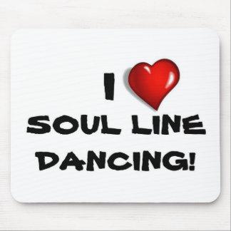 I Love Soul Line Dancing! Mouse Pad