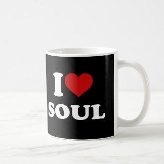 I Love Soul Classic White Coffee Mug
