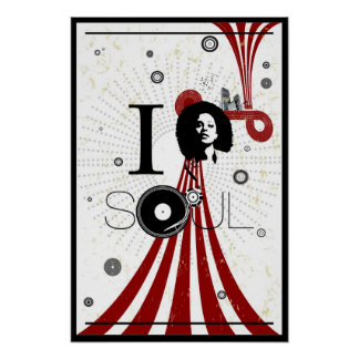 I Love Soul Poster