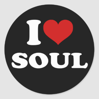 I Love Soul Sticker