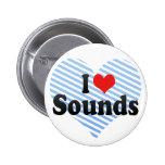 I Love Sounds Button