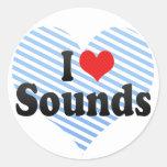I Love Sounds Sticker