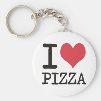 I love Soup - Vegetarian - Pizza Products! Keychain