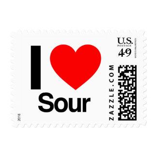 i love sour stamp