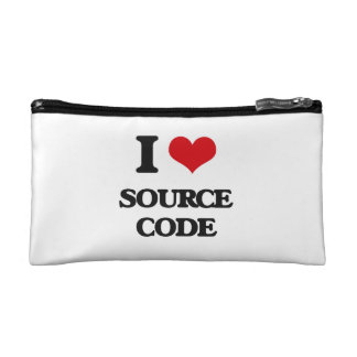 I love Source Code Makeup Bag